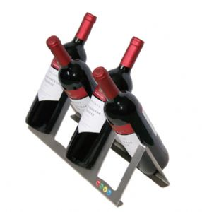 Criss-Cross Wine Rack